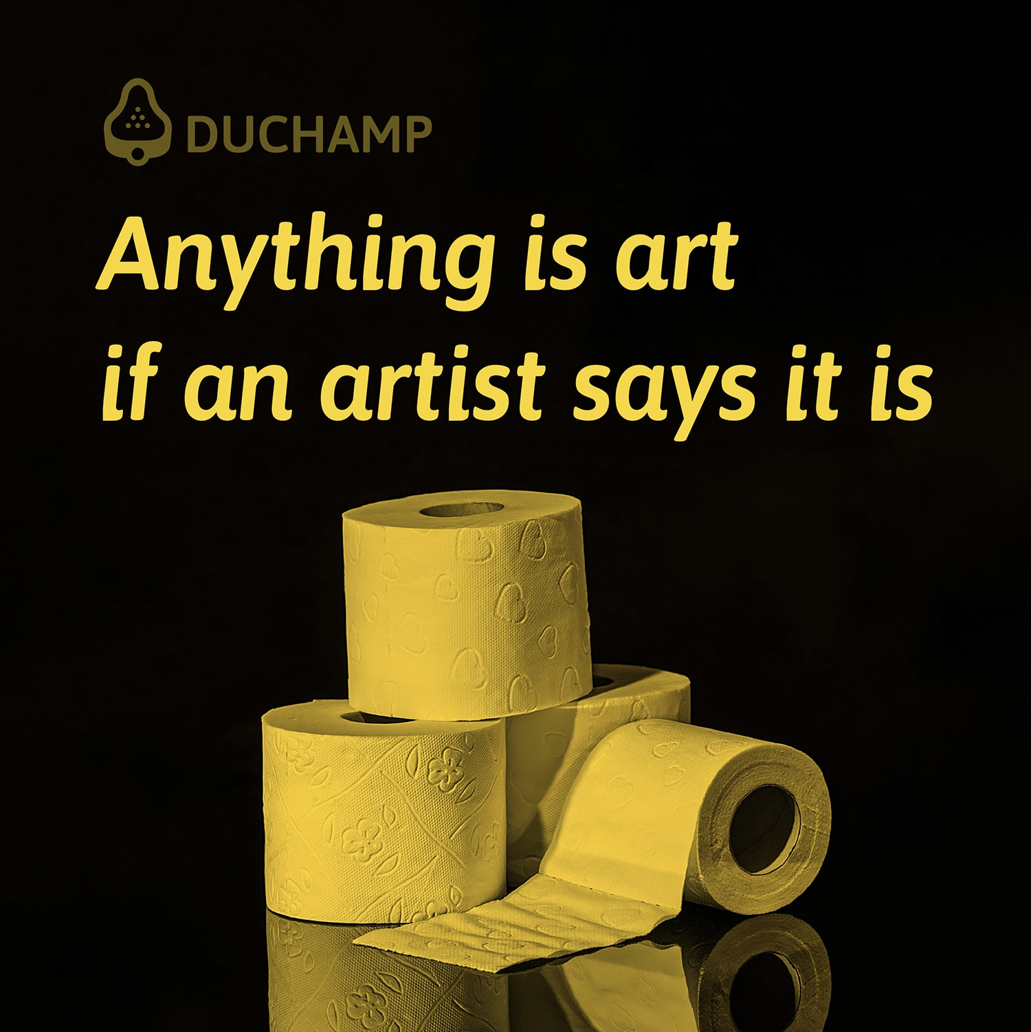 Anything is art