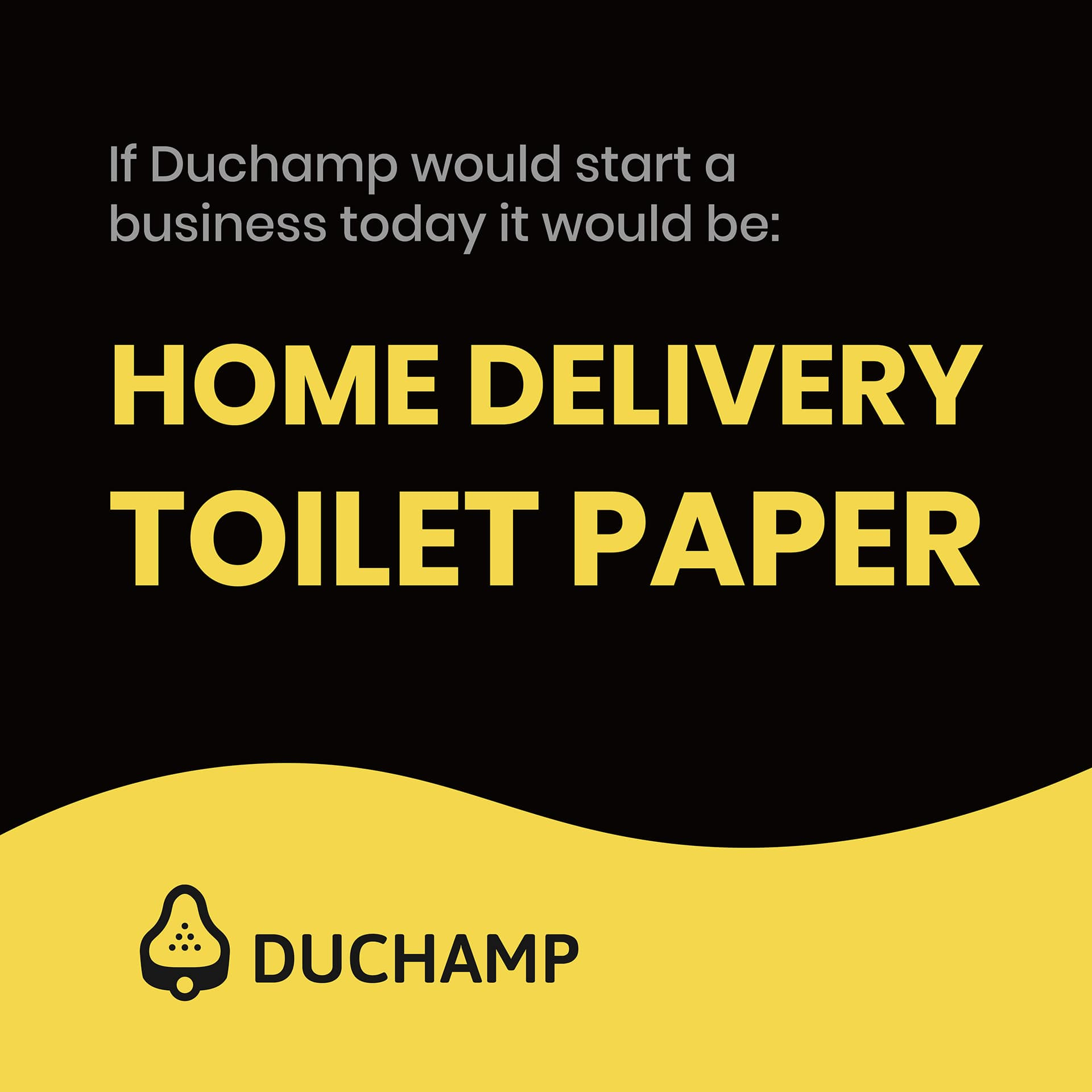 Home delivery toilet paper