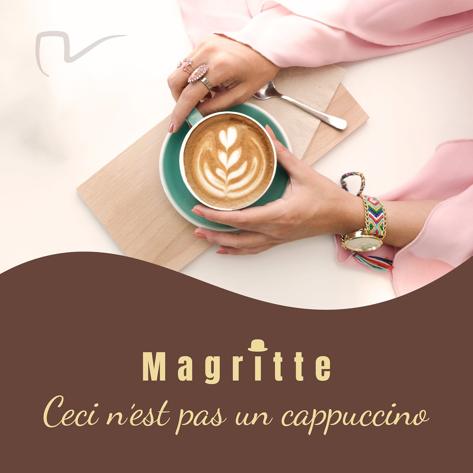 Magritte cappuccino