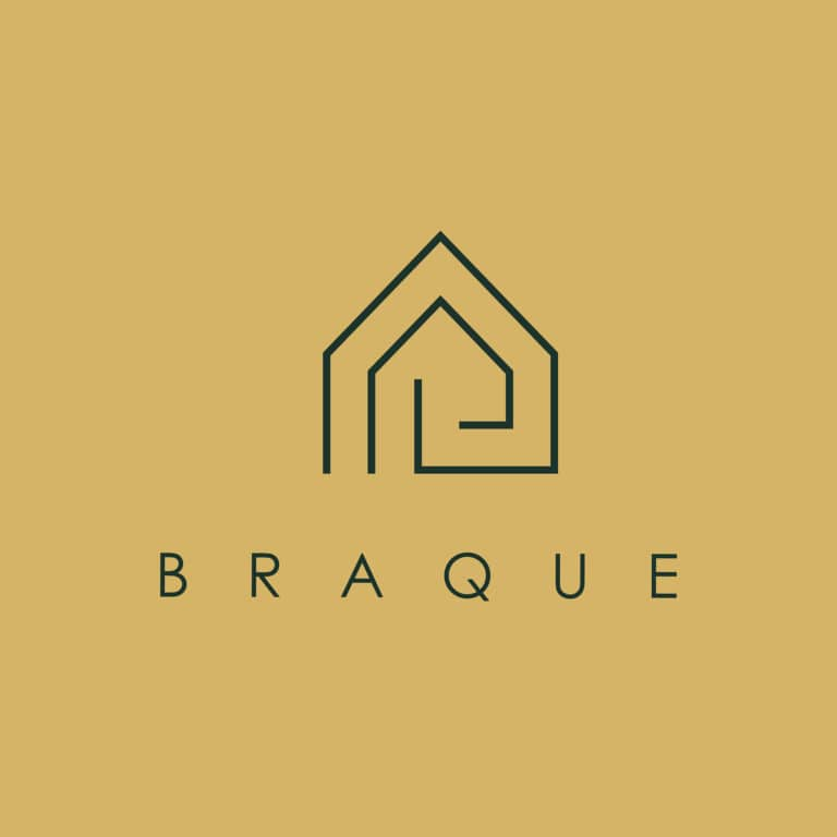 Braque logo house